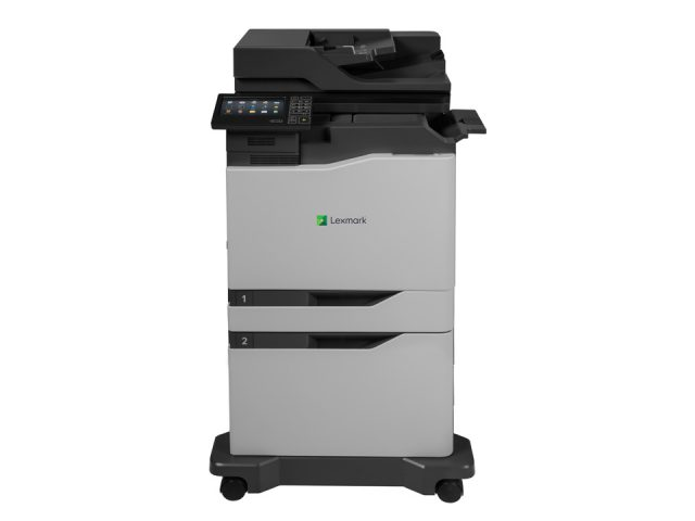 XC6152 + inline staple + 2200 sheet high capacity input + caster base FRONT